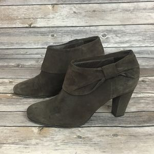 Kate Spade Suede Ankle Boot